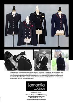 Vestes Lamantia Couture, Hommes, Femmes , Enfants, made in France