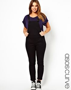 ASOS CURVE Dungaree In Twill. For Eggs, but the price is a bit ridiculous!