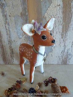 Delila Deer vintage style by PennybrightStudios