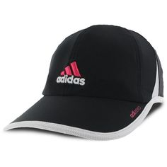 adidas Adizero 2 Hat ($22) ❤ liked on Polyvore featuring accessories, hats, adidas hats, upf hats, 5-panel hat and adidas