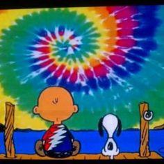 ☯☮ॐ American Hippie Bohemian Wanderlust Psychedelic ~ Tie Dye Sky Charlie Brown and Snoopy Grateful Dead Poster, Hippie Love, Hippie Bohemian, Hippie Peace, Hippie Chick, Hippie Art, Snoopy Love, Charlie Brown And Snoopy, Psychedelic Art