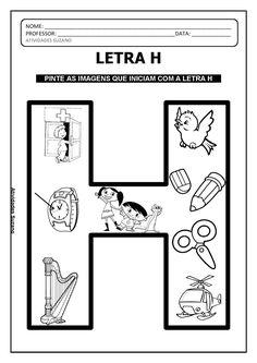 Continuação do alfabeto de imagens letras g. h, i, j | Atividades Pedagogica Suzano