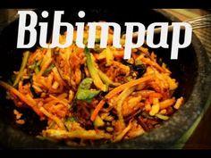 Como fazer bibimpap( comida coreana) - YouTube