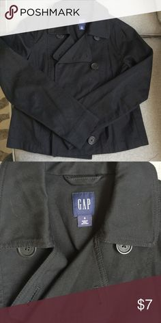 Gap dark navy blazer coat sz small Perfect shape sz small GAP Jackets & Coats Blazers
