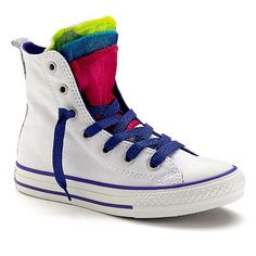 09d815962a52 Converse All Star Party Girls  Multi-Tongue High-Top Sneakers Kids Converse