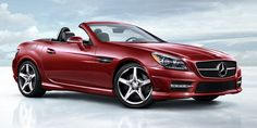 SLK-Class 350 in black with AMG Styling package and lighting package