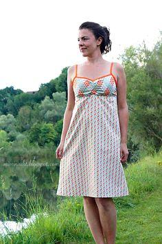 Mimi näht Designbeispiel Sommerkleid