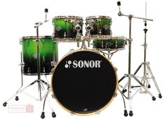 SONOR Force Essential Fusion Set Green fade  Bicí souprava