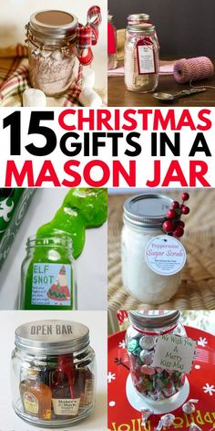 Mason jar gifts for coworkers. These homemade edible treats and other cool gifts. Mason jar gifts for coworkers. These homemade edible treats and other cool gifts for friends and fa Easy Homemade Christmas Gifts, Christmas Treats For Gifts, Mason Jar Christmas Gifts, Mason Jar Gifts, Mason Jar Diy, Perfect Christmas Gifts, Homemade Gifts, Christmas Stuff, Simple Christmas