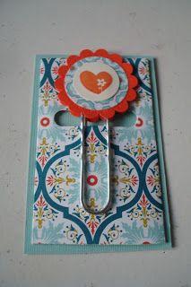 toocraftyjo: Giant Paperclip Bookmark