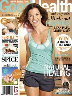 NZ Good Health magazine April issue