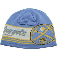 factory authentic d1edf 58aa7 Denver Nuggets Adidas NBA Cuffless Knit Beanie (Blue) adidas.  21.95