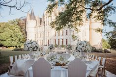 The Allure of the Outdoor Wedding - French Wedding Style Outdoor Wedding Reception, Outside Wedding, Wedding Venues, White Rose Bouquet, White Roses, Summer Wedding, Dream Wedding, Snapshot Photography, French Wedding Style