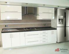 Cocina Mod. QUEBEC 3.30m. PRECIO: Diseñada para PARRILLA $11,990 / / / Diseñada para ESTUFA $9,990.