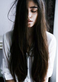 The hair.