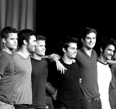 The teen wolf boys