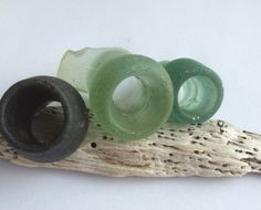A personal favorite from my Etsy shop https://www.etsy.com/listing/235539963/scottish-sea-glass-bottle-rims-sg-26152