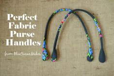 Think you need to buy pre-made handles for your handmade handbags? Make your own perfect fabric purse handles for any project. Purse Patterns, Sewing Patterns Free, Free Sewing, Sewing Tutorials, Free Pattern, Sewing Projects, Tutorial Sewing, Bag Tutorials, Handmade Handbags