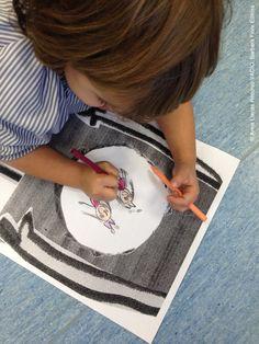 ACTIVIDAD niños a partir 4 años: ¿Qué crees que puede haber en este espacio…