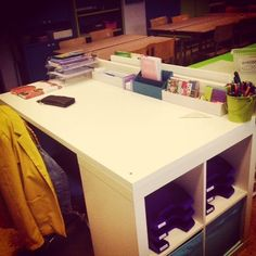 Juf Sofie's klasje: Bureau make-over