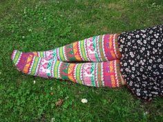 Ravelry: Eastern Anatolian Stockings - 15 pattern by Priscilla Gibson-Roberts