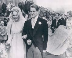 Princess Anastasia of Prussia, eldest child of Prince Hubertus of Prussia and his 2nd wife, Princess Magdalena Reuss of Kostritz, at her wedding  to Alois-Konstantin, 9th Prince of Löwenstein-Wertheim-Rosenberg.  Anastasia's younger sister, Princess Marie Christine, died in a car wreck at 19.  Having a hard time finding pics of both girls.