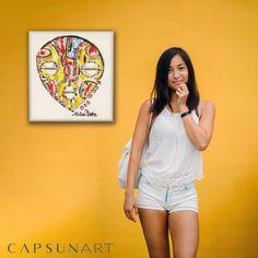capsun-art (@capsunart) • Photos et vidéos Instagram African Paintings, Overall Shorts, Improve Yourself, Overalls, Interior, Photos, Inspiration, Instagram, Women