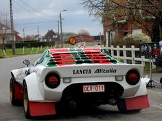 Lancia Stratos - I soooo love these even though they're thoroughly unreliable even if you can find one.    TAC TIelt Belgium 2012 by Radio Brouwer Rally, via Flickr
