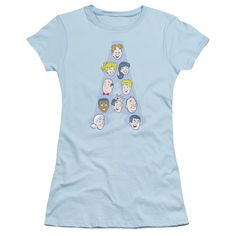 """Checkout our #LicensedGear products FREE SHIPPING + 10% OFF Coupon Code """"Official"""" Archie Comics / Character Heads - Short Sleeve Junior Sheer - Archie Comics / Character Heads - Short Sleeve Junior Sheer - Price: $34.99. Buy now at https://officiallylicensedgear.com/archie-comics-character-heads-short-sleeve-junior-sheer"""