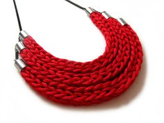 .Tricotin - Catirpel Necklace by Elyse Marks