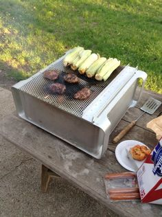An old Mac G5 can be made into a good BBQ