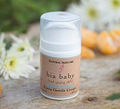 Bia Beauty's Natural Baby Cream is a gentle and effective natural moisturiser for a baby's delicate skin. Containing alendula oil, evening primrose oil, aloe vera, shea butter, and jojoba oil along with mildly antiseptic zinc oxide. Natural Baby, Natural Skin Care, Evening Primrose, Primrose Oil, Calendula Oil, Best Skin Care Routine, Baby Skin Care, Natural Moisturizer, Younger Skin