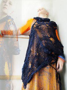 Mizzie Morawez Extrem: Freeform knitting