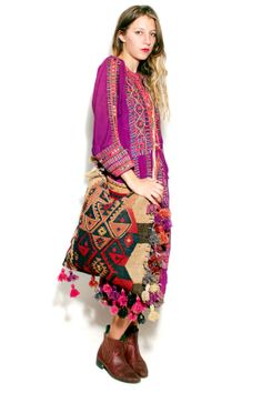 Moroccan Kilim Travel Bag available at Tavin Boutique and online.