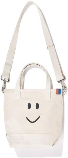 Kule The Smile Bucket - Canvas Crossbody Bags, Cotton Canvas, Shoulder Strap 4a41749690
