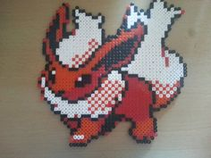 Pokemon Pyroli  Hama Nintendo - perler beads