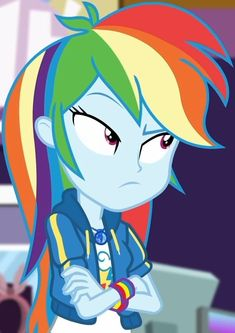 Rainbow Dash And Soarin, Little Poni, Raised Eyebrow, My Little Pony Pictures, Girls Series, Equestria Girls, Memes, Animation, Cartoon