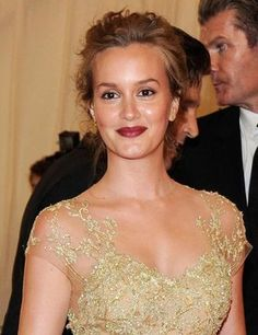 This year there was one lip look that took the red carpet at the MET Ball by storm and that was Vampy Lips. Wine Lips, Leighton Meester, Red Carpet, Take That, Make Up, Inspired, Hair, Inspiration, Beauty