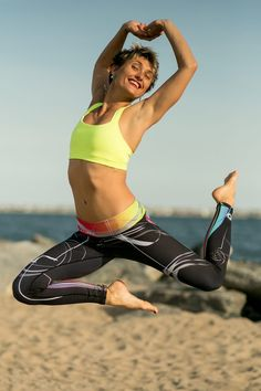 Best leggings ever for surfing, Kitesurfing or simply yoga or workout sessions in the gym.