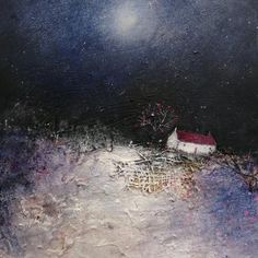 'Blue Moon' Christmas cards are now in stock🎄 You can buy direct from my Etsy shop, link in bio👆 Remember it's better value to buy the packs of 5 or 12 rather than individually cards 😁 . House Landscape, Landscape Art, Snow Scenes, Christmas Design, Blue Moon, Home Art, Buy Art, Design Art, Contemporary Art