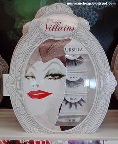 Have you seen the Disney Villains Lash sets by Ardell yet? Disney Villains Makeup, Sea Witch, Star Trek, Pokemon, Nerd, Christmas Gifts, Marvel, Ursula, Halloween