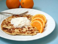 """Low Carb Cream Cheese Pancakes (another version!tastes like decadent cream cheesy French toast…without the toast."""" - This version adds nutmeg, heavy cream and salt to usual mixture - whole recipe is about 3 carbs Atkins Recipes, Thm Recipes, Ketogenic Recipes, Cooking Recipes, Free Recipes, Healthy Low Carb Recipes, Low Carb Desserts, Healthy Breakfast Recipes, Healthy Food"""