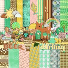 Free digital scrap-booking kits. For personal use only.