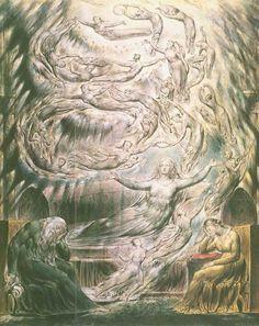 William Blake Painting Reproductions For Sale Great Works Of Art, Fantastic Art, William Blake Art, Scary Art, Paintings For Sale, Angel Paintings, Art For Art Sake, Artist Gallery, Gothic Art