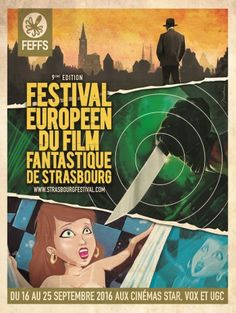 Festival Européen du Film Fantastique de Strasbourg : programme de la 9è édition
