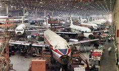 Long Beach;    DC-9 üretim hattı