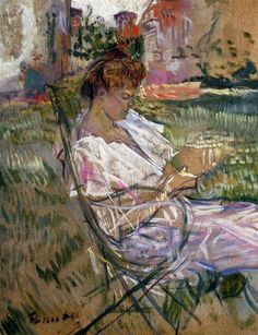 Henri de Toulouse-Lautrec Madame Misian Nathanson 1897