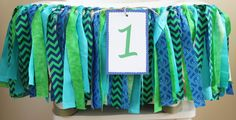 Boy Highchair Garland, 1st Birthday Highchair Banner, 1st Birthday Boy, Whale Ocean Under the Sea Party, Birthday banner on Etsy, $29.75
