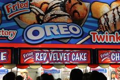 Pretty much any deep-fried food you could possibly think of. | 25 Truly Terrifying Things You Can Eat At The Houston Rodeo