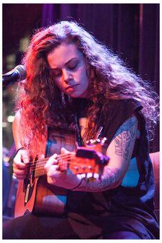 Tash performing at Bar 303, Northcote